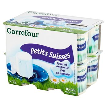 Carrefour Ser Petit Suisse 720 g (12 sztuk)