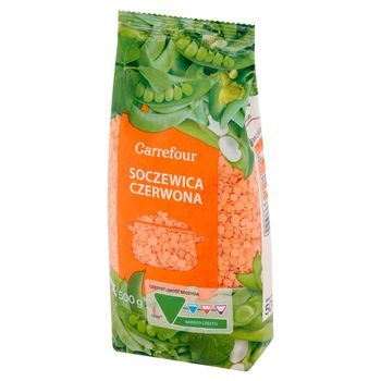 Carrefour Soczewica czerwona 500 g