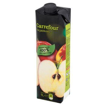 Carrefour Sok jabłkowy 1 l