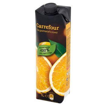 Carrefour Sok pomarańczowy 1 l