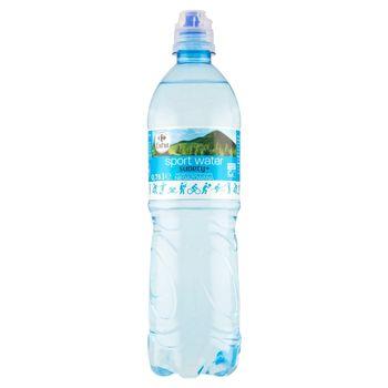 Carrefour Extra Sport Water Sudety+ Naturalna woda mineralna niegazowana 0,75 l