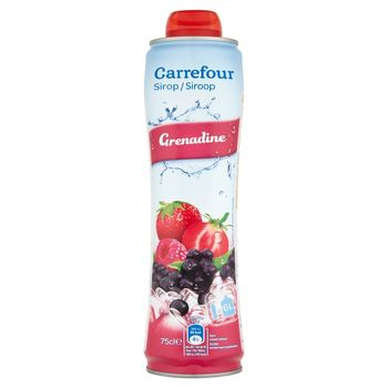 Carrefour Syrop grenadinowy 75 cl