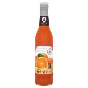 Carrefour Syrop o smaku pomarańczowym 440 ml