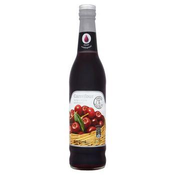 Carrefour Syrop o smaku wiśniowym 440 ml