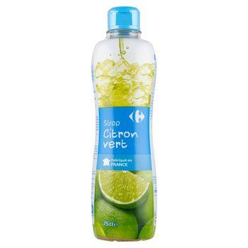 Carrefour Syrop z limonki 750 ml