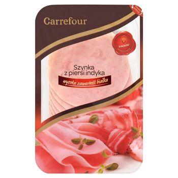 Carrefour Szynka z piersi indyka 120 g