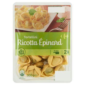 Carrefour Tortellini makaron z nadzieniem z sera ricotta i szpinaku 300 g