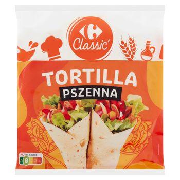 Carrefour Classic Tortilla pszenna 250 g (4 x 62,5 g)