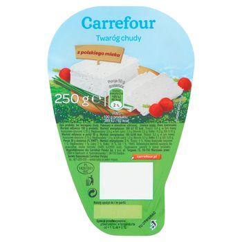 Carrefour Twaróg chudy 250 g