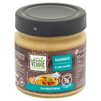 Carrefour Veggie Hummus z solą morską 190 g