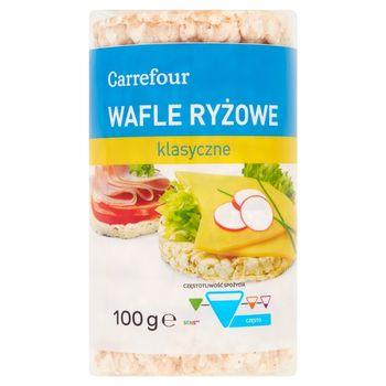 Carrefour Wafle ryżowe klasyczne 100 g