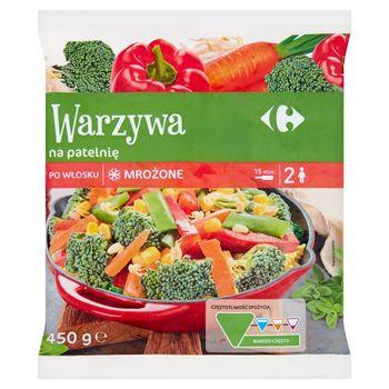 Carrefour Warzywa na patelnię po włosku mrożone 450 g