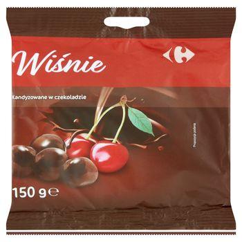 Carrefour Wiśnie kandyzowane w czekoladzie 150 g