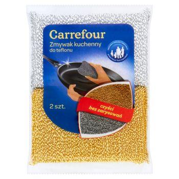 Carrefour Zmywak kuchenny do teflonu 2 sztuki