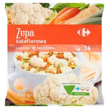 Carrefour Zupa kalafiorowa mrożona 450 g