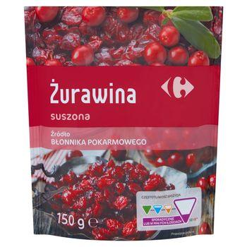Carrefour Żurawina suszona 150 g