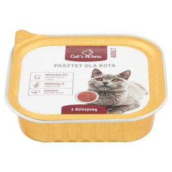 Cat's Menu Adult Pasztet dla kota z dziczyzną 100 g