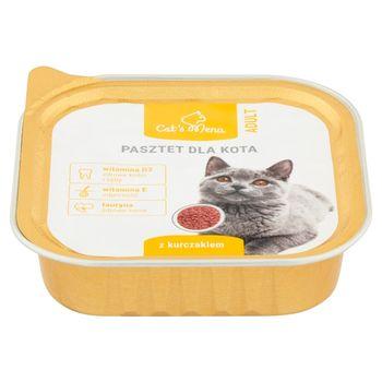 Cat's Menu Adult Pasztet dla kota z kurczakiem 100 g
