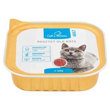 Cat's Menu Adult Pasztet dla kota z rybą 100 g