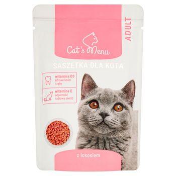 Cat's Menu Adult Saszetka dla kota z łososiem 100 g