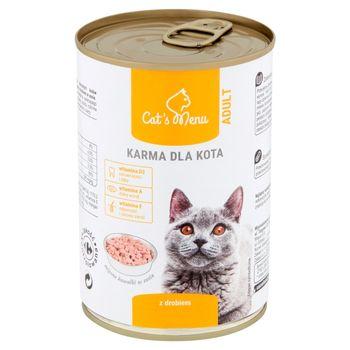 Cat's Menu Adult Karma dla kota z drobiem 400 g