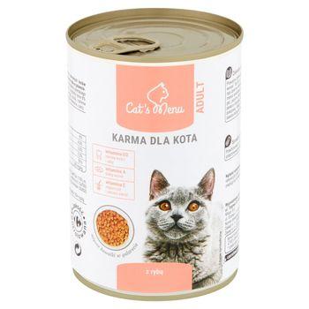 Cat's Menu Adult Karma dla kota z rybą 400 g