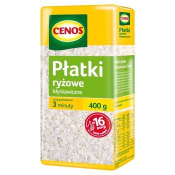 Cenos Płatki ryżowe błyskawiczne 400 g