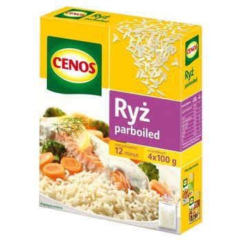 Cenos Ryż parboiled 400 g (4 x 100 g)