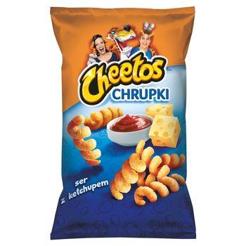 Cheetos Chrupki kukurydziane o smaku serowo-ketchupowym 145 g