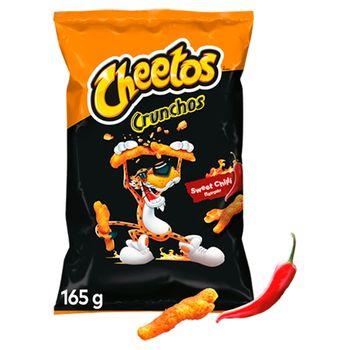 Cheetos Crunchos Chrupki kukurydziane o smaku słodkie chilli 165 g