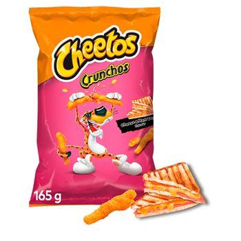 Cheetos Crunchos Chrupki kukurydziane o smaku tosta serowego z szynką 165 g