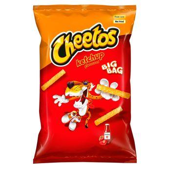 Cheetos Ketchup Chrupki kukurydziane o smaku ketchupowym 85 g
