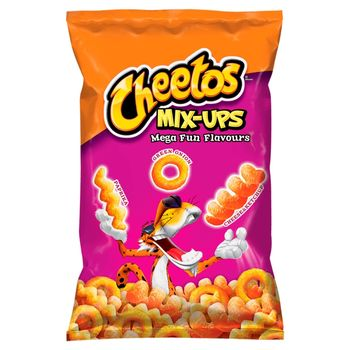 Cheetos Mix-Ups Mega Fun Flavours Mieszanka chrupek kukurydzianych 70 g