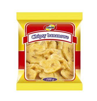 Chipsy bananowe 100 g