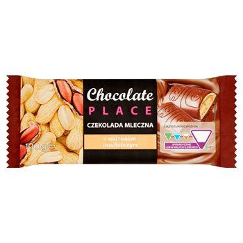 Chocolate Place Czekolada mleczna z nadzieniem arachidowym 100 g