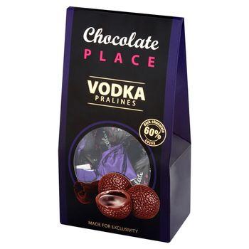 Chocolate Place Praliny z czekolady z płynnym nadzieniem z wódką 112 g