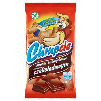 Chrupcie Chrupki kukurydziane o smaku czekoladowym 70 g