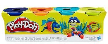 Ciastolina HASBRO Play-Doh Tuba 4-pak (Zestaw 1) B5517