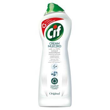 Cif Original Mleczko ze 100 % naturalnymi cząsteczkami czyszczącymi 780 g