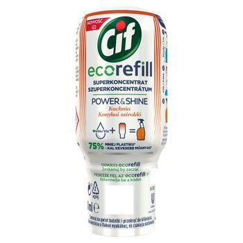 Cif Power & Shine Ecorefill Superkoncentrat wkład do sprayu kuchnia 70 ml