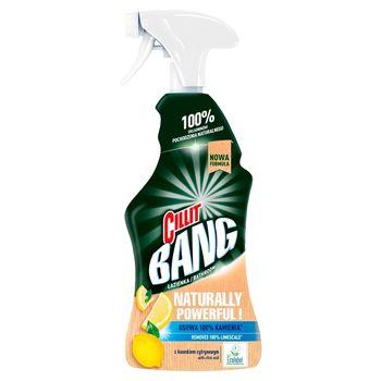 Cillit Bang Naturally Powerful Spray do czyszczenia łazienki 750 ml