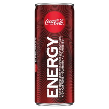 Coca-Cola Energy Napój gazowany energetyzujący 250 ml
