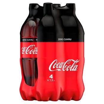 Coca-Cola zero Napój gazowany 4 x 1,5 l
