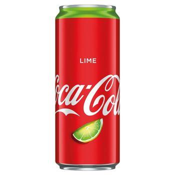 Coca-Cola Lime Napój gazowany 330 ml