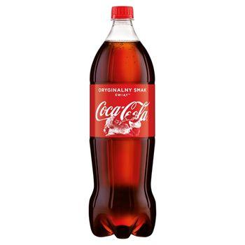 Coca-Cola Napój gazowany 1,5 l