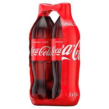 Coca-Cola Napój gazowany 2 x 1,5 l
