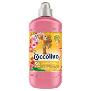Coccolino Honeysuckle & Sandalwood Płyn do płukania tkanin koncentrat 1450 ml (58 prań)
