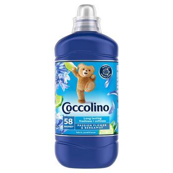 Coccolino Passion Flower & Bergamot Płyn do płukania tkanin koncentrat 1450 ml (58 prań)