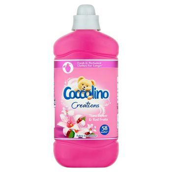 Coccolino Creations Tiare Flower & Red Fruits Płyn do płukania tkanin koncentrat 1450 ml (58 prań)