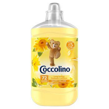 Coccolino Happy Yellow Płyn do płukania tkanin koncentrat 1800 ml (72 prania)